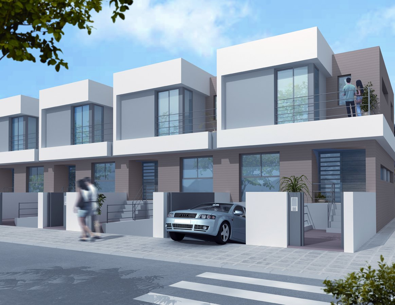 Viviendas en caudete de las fuentes ideas construcci n casas - Fachadas viviendas unifamiliares ...
