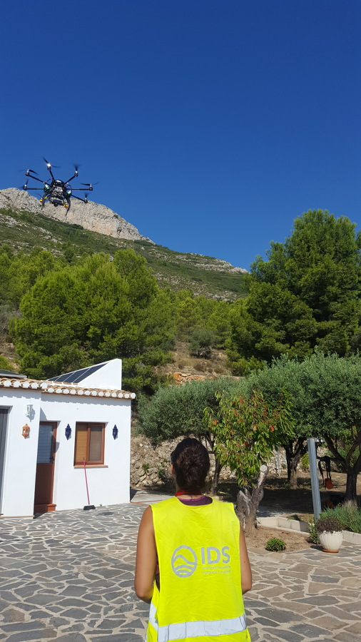 Vuelo con drone