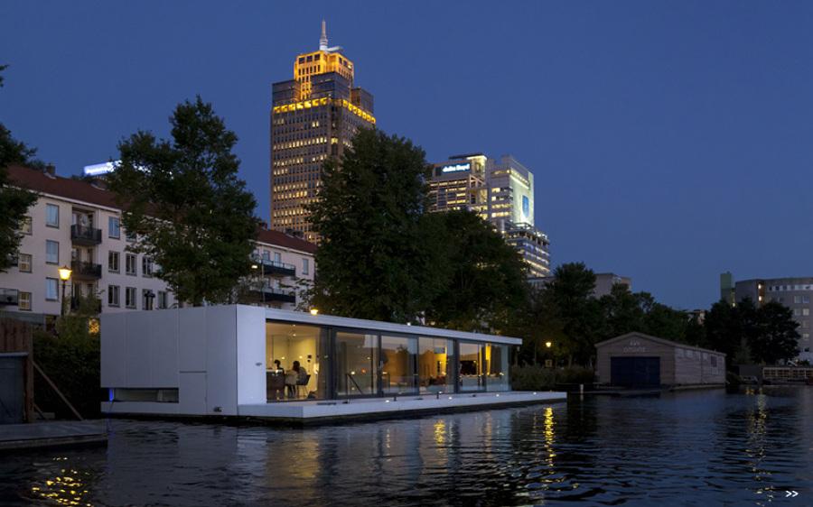 Watervilla en Ámsterdam 1