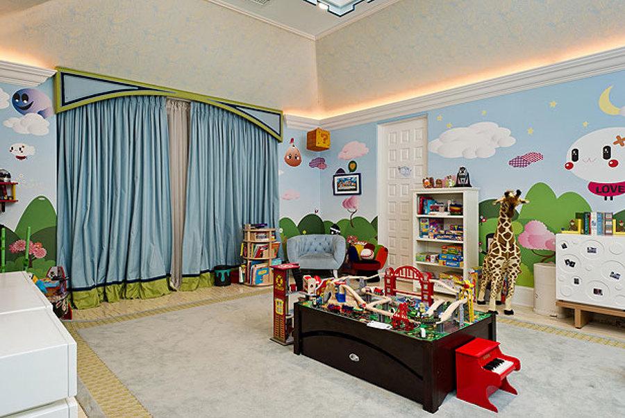 el paraíso infantil hecho habitación