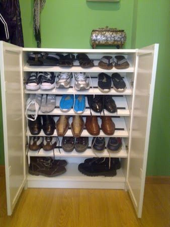 Ideas para hacer zapateros ideas para acomodar tus - Baldas para zapatos ...