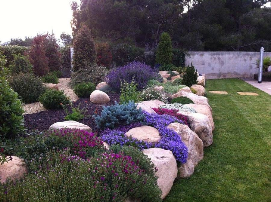 Diseño y construcción de jardín