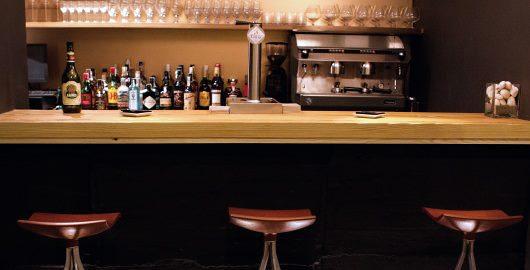 Zona de barra de bar