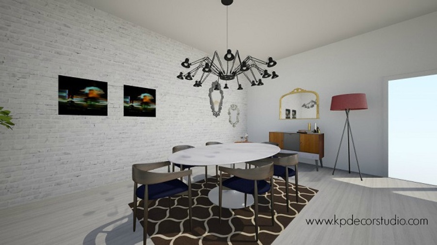 Salon Comedor de Estilo Nórdico Danés | Ideas Decoradores