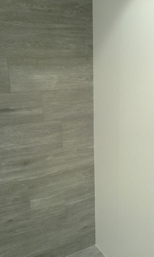 zona de ducha junto a todo el baño
