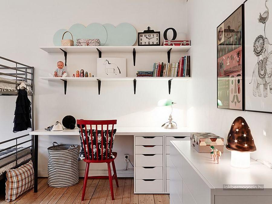 Foto: Zona de Estudio en Dormitorio Infantil Doble de Marta #1699621 ...