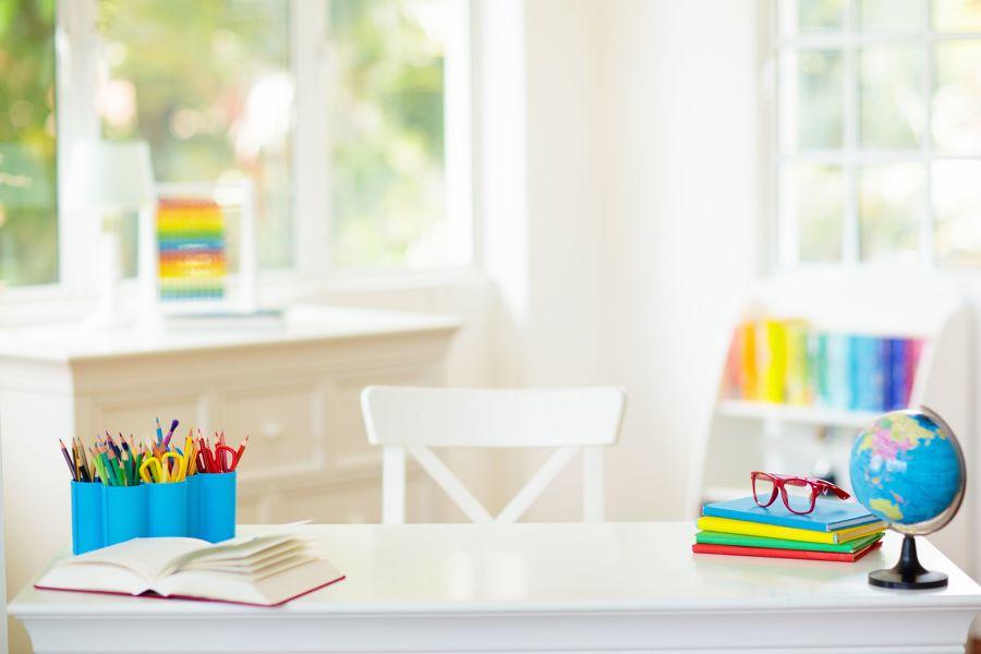Zona de estudio infantil
