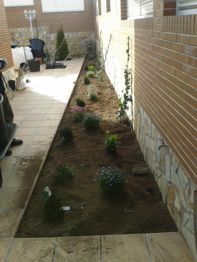 Instalaci n de tepe y riego autom tico ideas jardineros - Riego automatico cesped ...