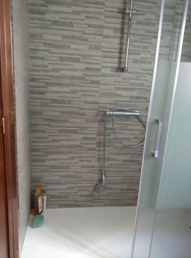 Zona de la ducha