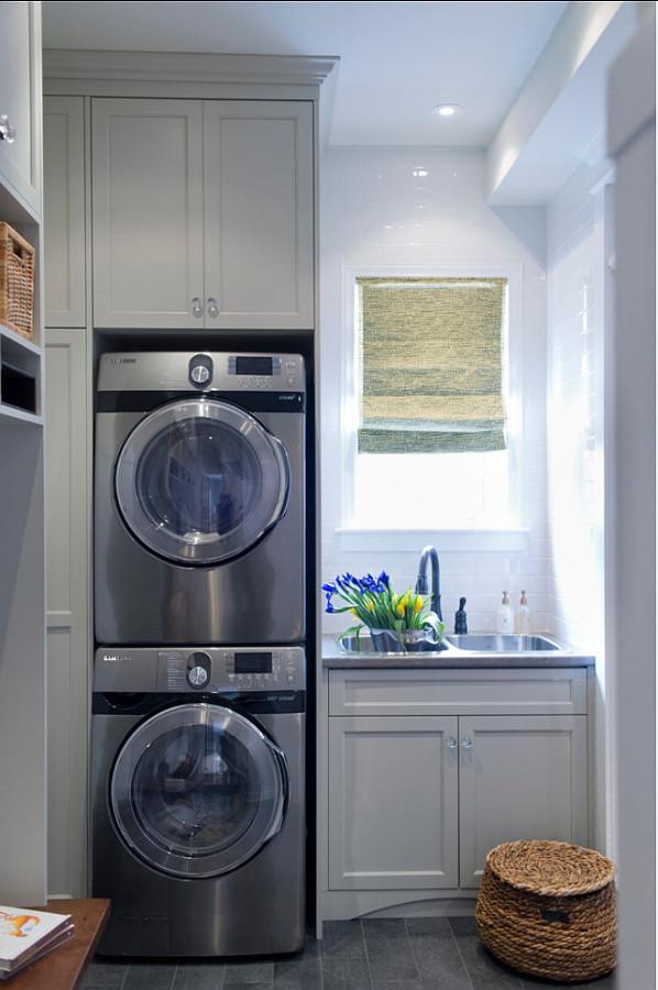 Ideas para integrar una zona de lavado y plancha en tu - Integrer machine a laver dans salle de bain ...