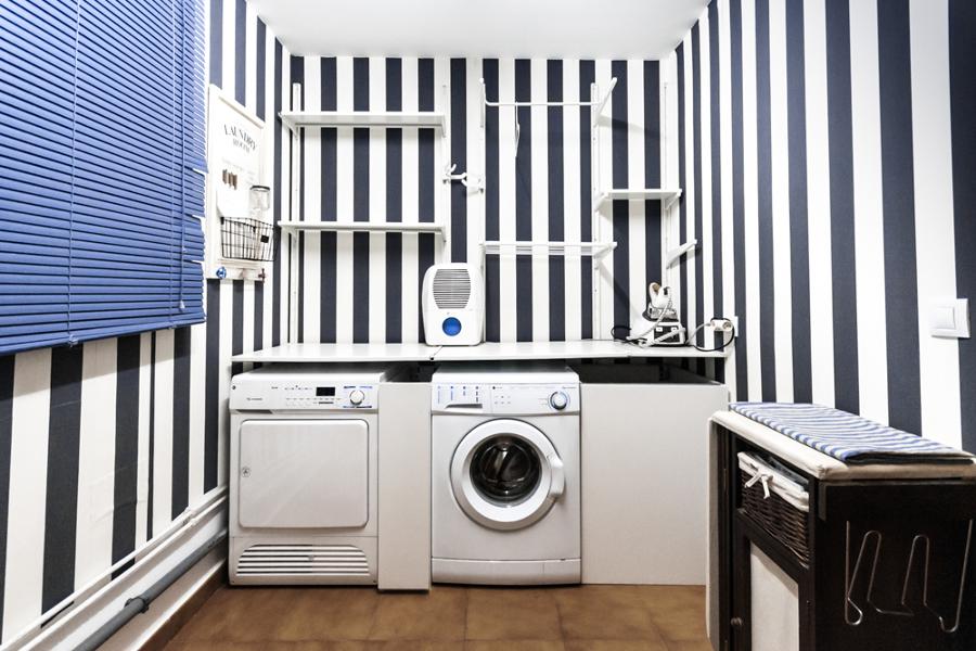 Zona de lavado y mesetas