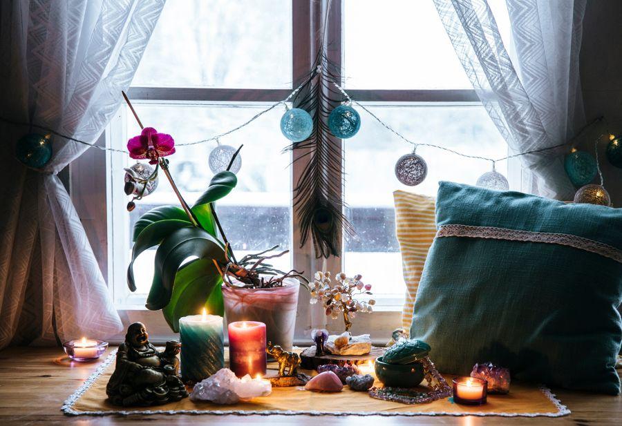 Zona de meditación