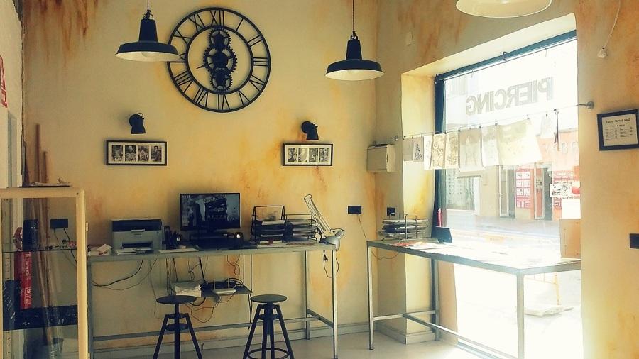 Zona de recepción y diseño de trabajos