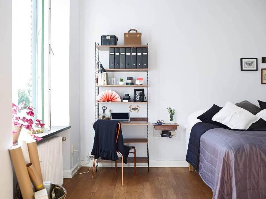 zona de trabajo en dormitorio