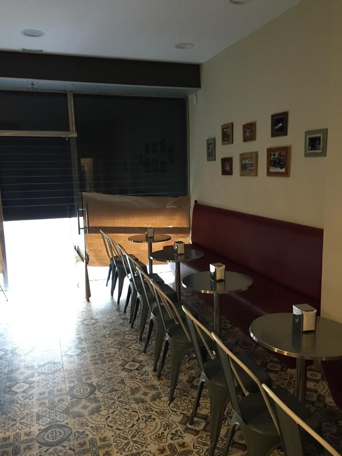 Zona degustación cafeteria