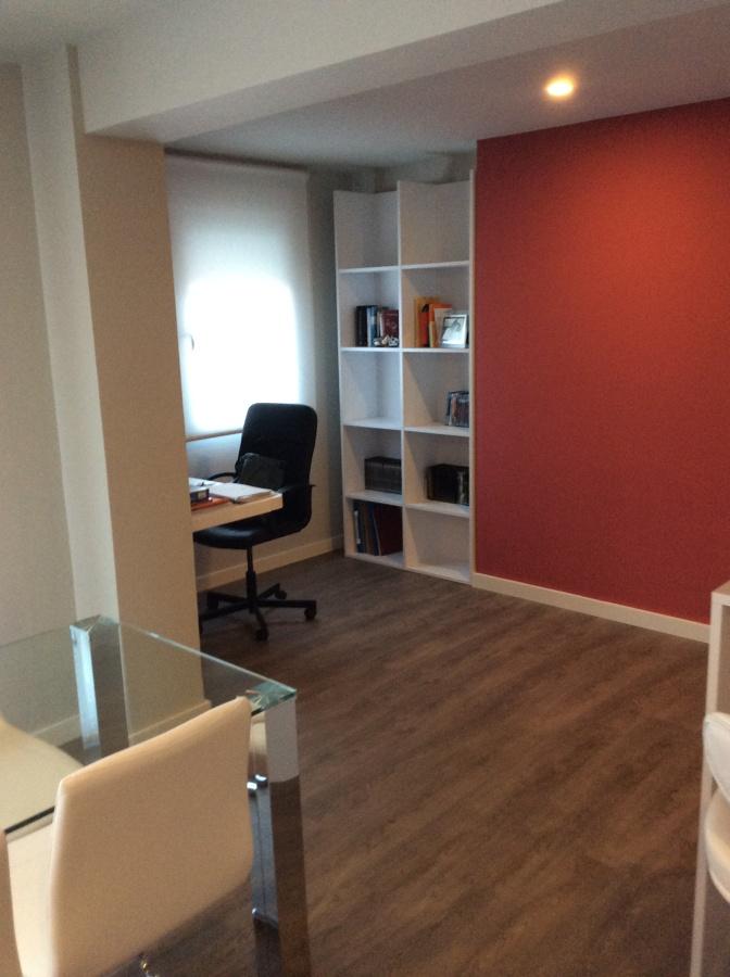 Zona despacho abierto al salón