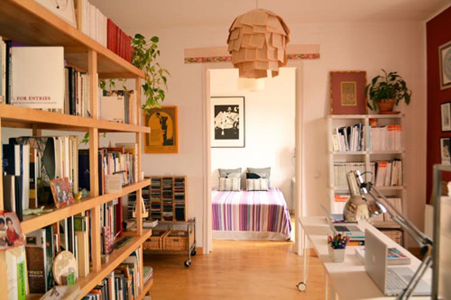 Zona estudio y dormitorio invitados