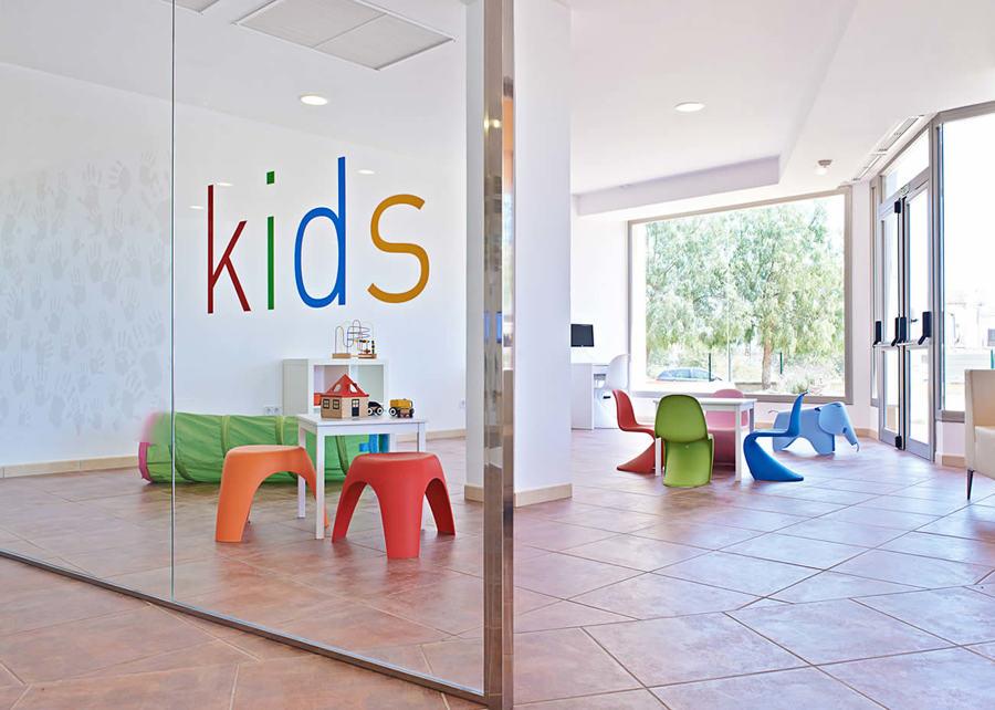 Zona infantil Hospital de Llevant