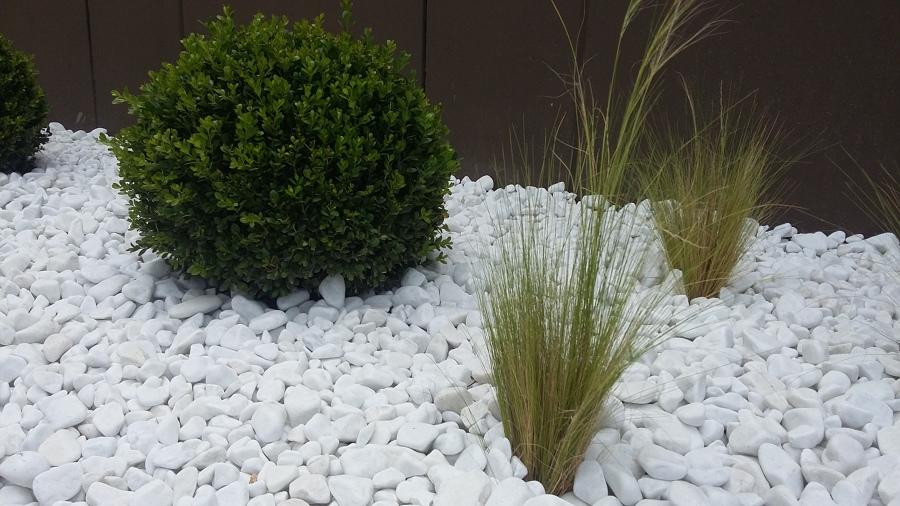 Zona jardinera lateral