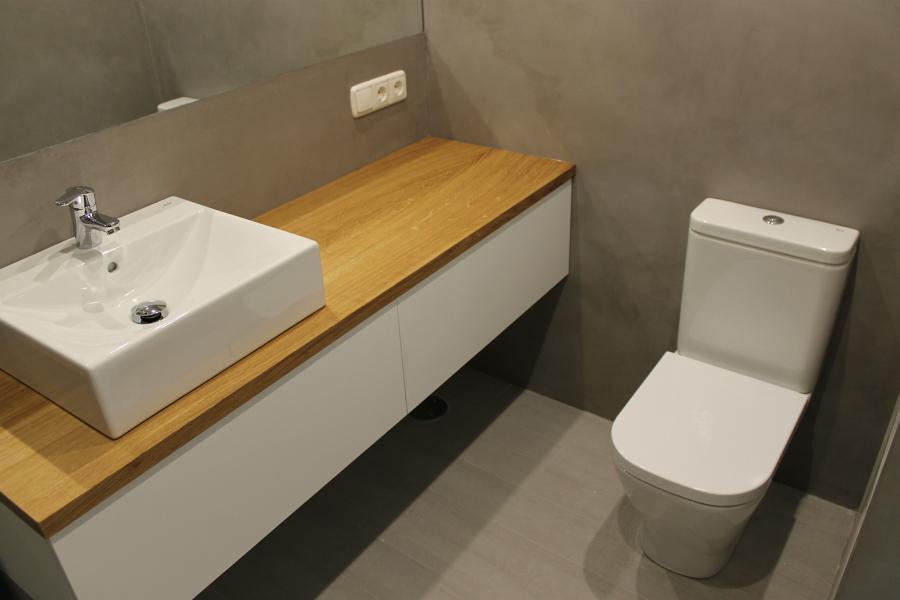 Zona lavabo tocador