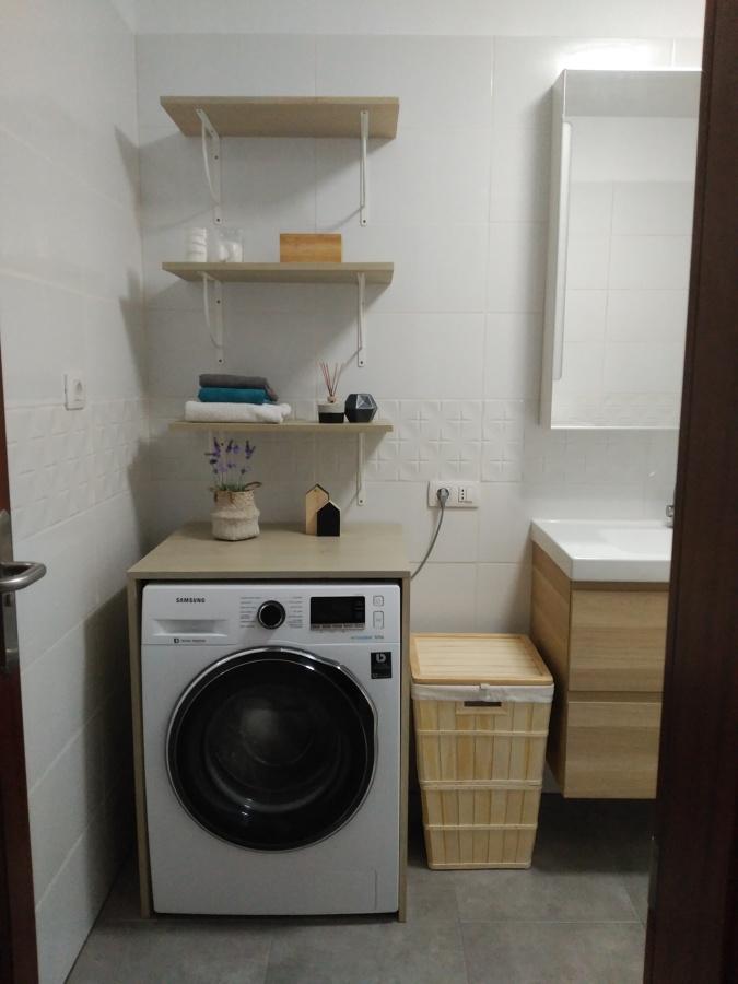 Zona lavadero y almacenaje