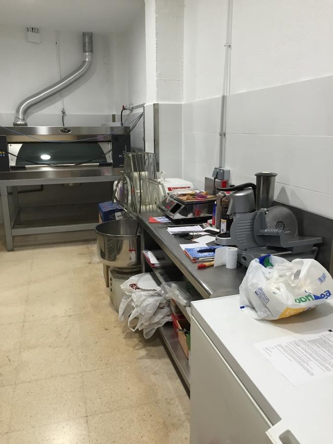Zona obrador panaderia