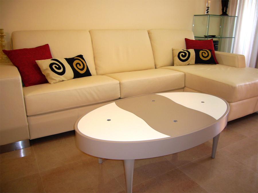 Foto zona sal n sof con mesa de centro de samarkanda - Samarkanda muebles ...