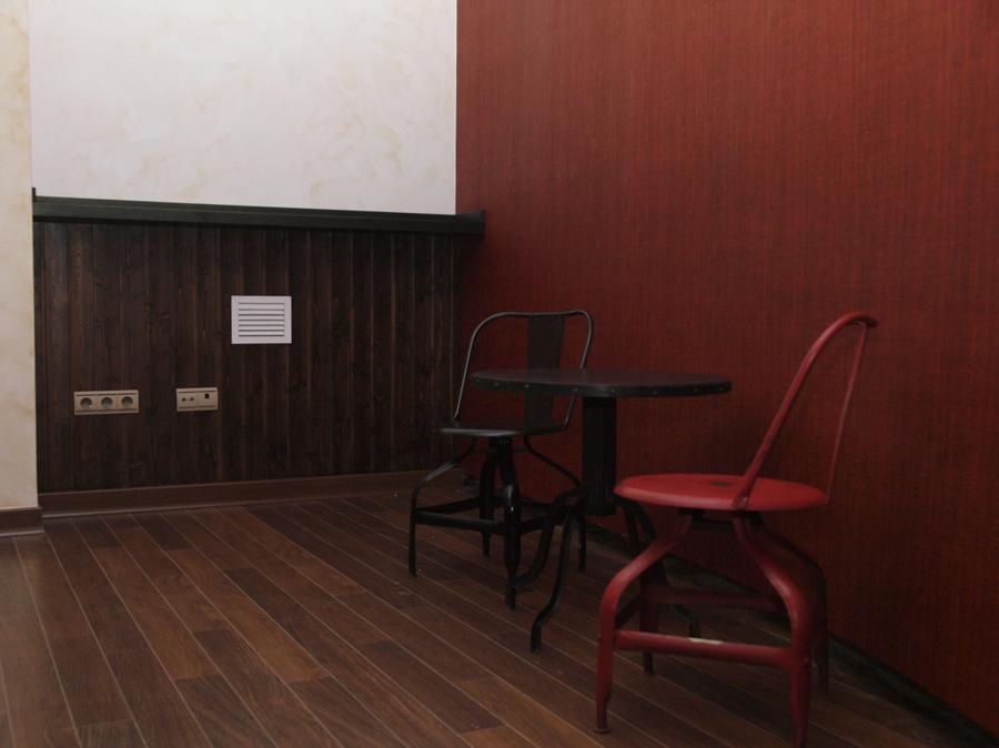 Zona sillas Vintage Metalicas