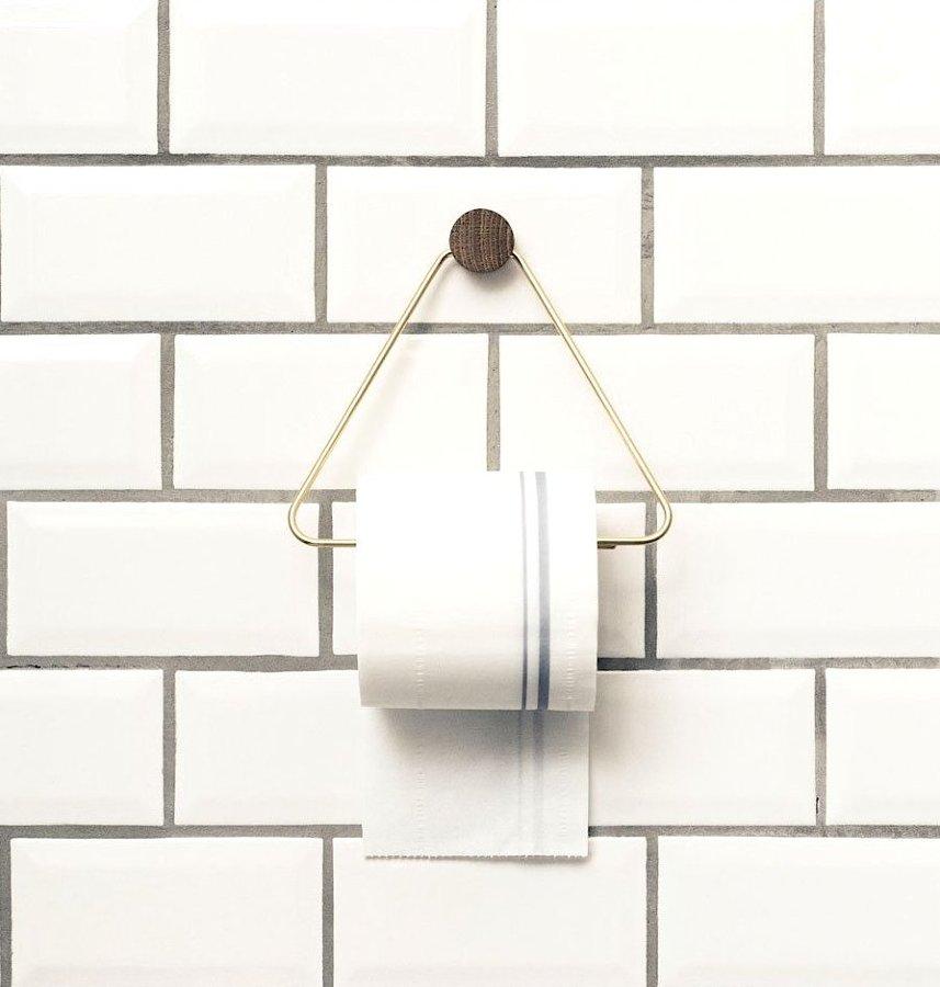 Formas ingeniosas de almacenar el papel higi nico ideas - Poner papel pared ...