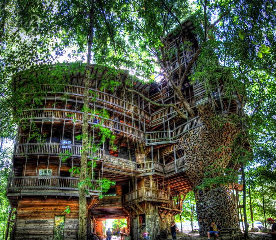 casas de árbol más grande