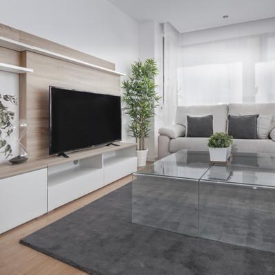 Un piso con decoración sencilla y toques nórdicos