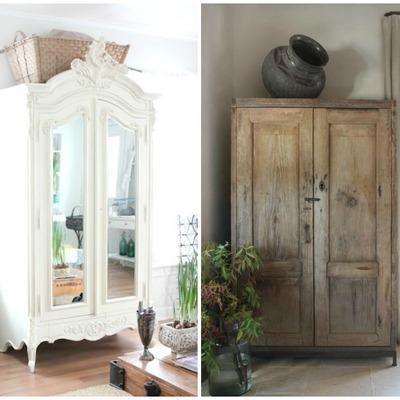 Decora con armarios antiguos restaurados