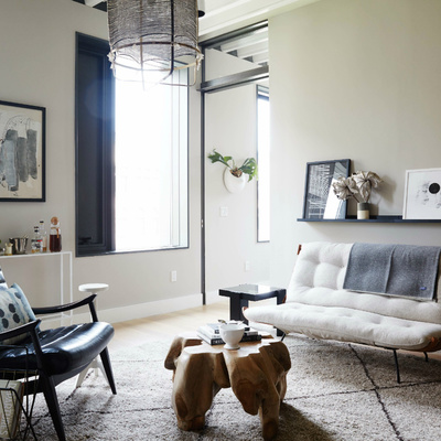 salón estilo Brooklyn