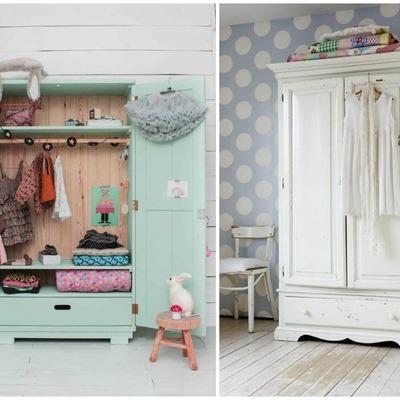 armarios antiguos infantil