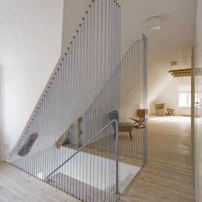 Ideas y fotos de escaleras de estilo minimalista para - Pasamanos de cuerda ...