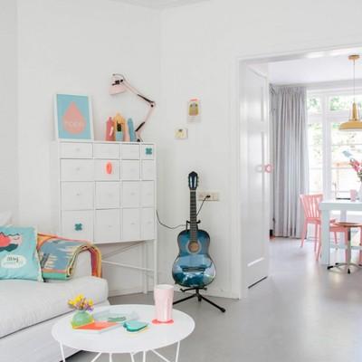 La casa más alegre y colorida