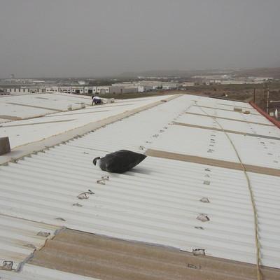 Impermeabilización, Aislamiento Térmico y Acústico sobre cubierta de Chapa Metalica