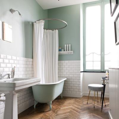 ¿Suelos de madera en el baño? ¡Sí!