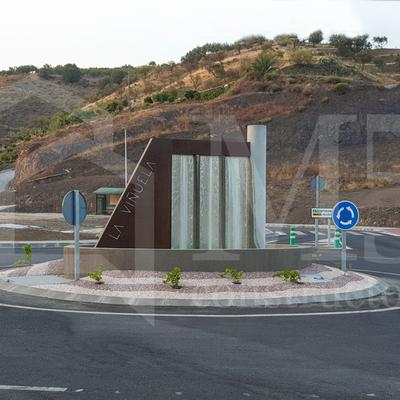 Rotonda en La Viñuela