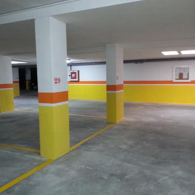 Pintura garaje comunitario
