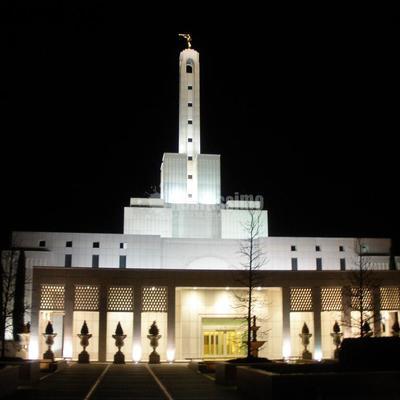 Pintura en Templo Mormones Madrid