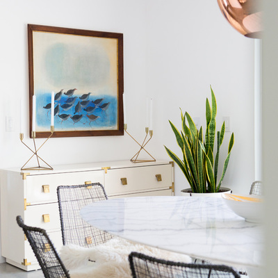 Ideas y fotos de mueble blanco comedor para inspirarte - Mueble comedor nordico ...