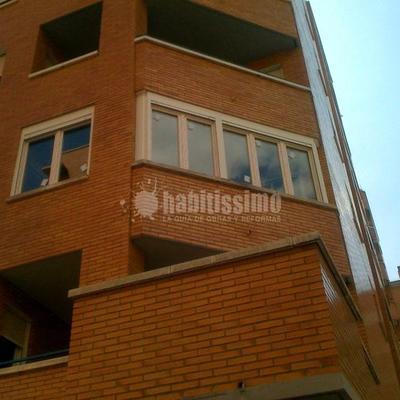 Cerrar terraza con ventanas PVC 70 mm