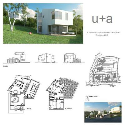 5 viviendas unifamiliares en Cela, Bueu