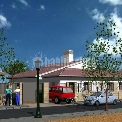 Proyectos Básico y de Ejecución de 10 Viviendas Unifamiliares en el sector Cañada Real en Coca. Segovia.