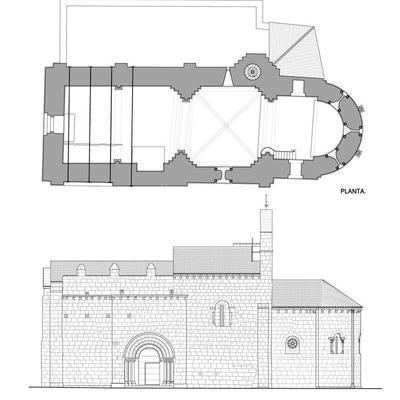 Proyectos Básico y de Ejecución de Restauración de la Iglesia de Ntra. Sra, de los Ángeles en Fuensauco. Soria.