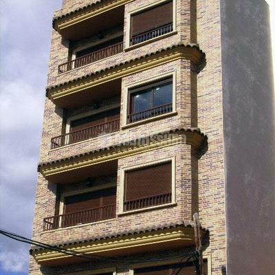 Cerramiento fachada de ladrillo cara vista