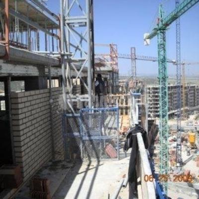 Construcción de fachadas