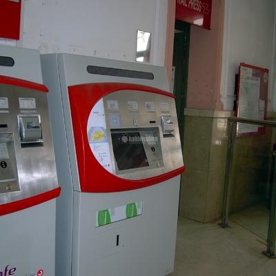 Instalación máquinas autoventas Adif