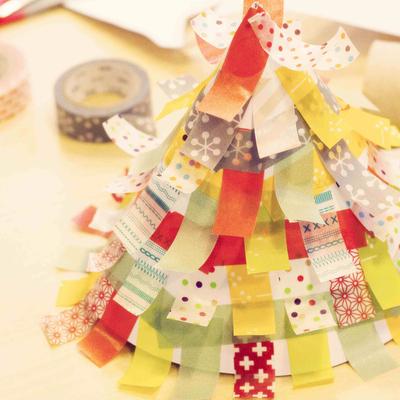 Decora tu Navidad con washi tape